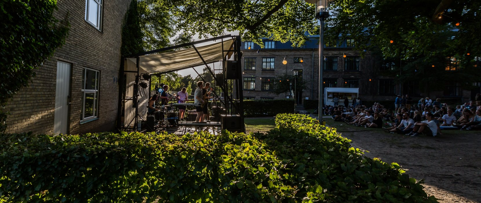 Lyd og liv i Mantzius Haven (Lydfest) - Foto: Lars Madsen